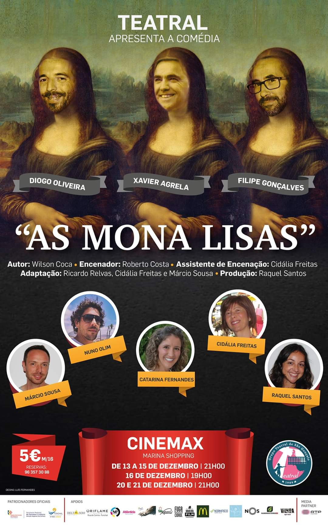 AS MONA LISAS - Recordar a Peça no Dia Mundial do Teatro