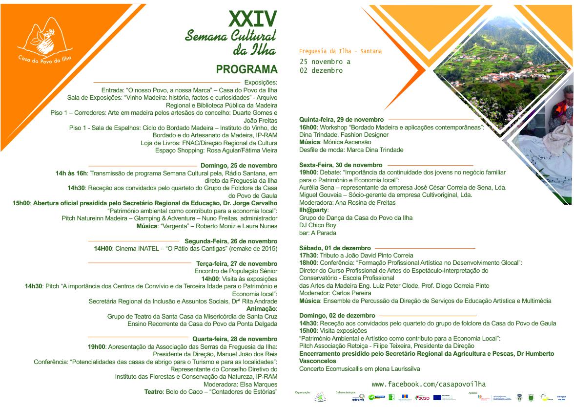 XXIV Semana Cultural da Ilha - NAMINHATERRA TV - Eventos em